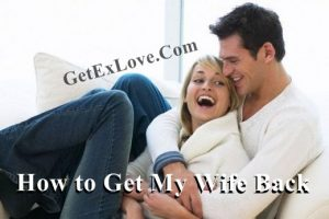How to Get My Wife Back